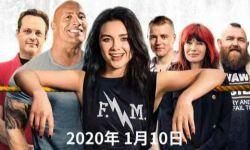 少女佩奇的摔跤励志故事,强森主演《为家而战》定档2020年1月10日