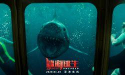 《鲨海》导演打造系列新作《鲨海逃生》 盲眼大白鲨正面形象进一步曝光