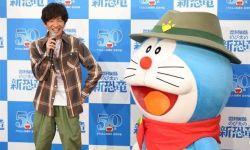 木村拓哉出席电影《哆啦A梦:大雄的新恐龙》公开录音活动