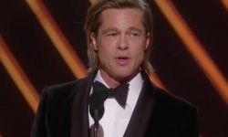 布拉德·皮特凭《好莱坞往事》获第92届奥斯卡最佳男配角奖