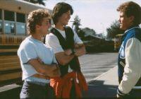演员亚历克斯·温特晒电影《比尔和泰德历险记》幕后照