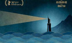 黄海为《一直游到海水变蓝》设计国际版海报