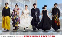 六位新人演员亮相日本电影学院奖企划海报