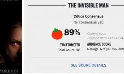 美国恐怖片《隐形人》媒体口碑解禁,总体评价不错