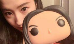 刘亦菲晒照  纪念电影《花木兰》宣传启动