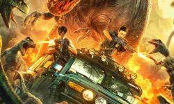 人类与恐龙的大战一触即发  电影《杀出侏罗纪》热映中