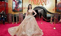 《花木兰》洛杉矶举行世界首映礼 刘亦菲华丽出席