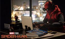 电影《蜘蛛侠:英雄归来》导演自制海报 呼吁居家办公