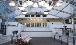 戛纳电影节延期 戛纳电影宫被改建成临时收容所