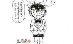 《名侦探柯南:绯色的子弹》撤档,青山刚昌绘图致歉