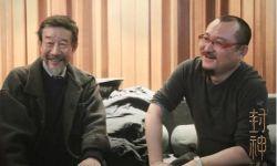 电影《封神三部曲》进入配音阶段,导演乌尔善分享李雪健工作照