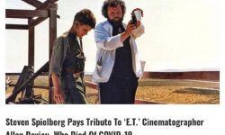 摄影师艾伦·达维奥因患新冠去世,曾拍摄《E.T》《太阳帝国》