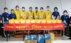 助力疫情防控,TVB艺人携手埋堆堆捐赠防疫物资