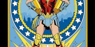 《神奇女俠2》發布漫畫風宣傳海報,8月14日北美上映
