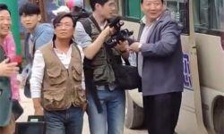 网友偶遇刘昊然王宝强,疑似正在拍摄电影《我和我的家乡》