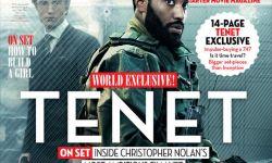 诺兰《信条》两大男主登杂志封面