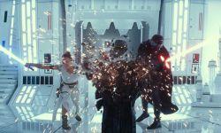 """""""暴风兵""""在迪士尼乐园维持秩序"""