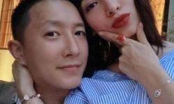 韩庚晒恩爱合影为卢靖姗庆生:我的爱人生日快乐