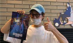 郑敬淏SNS上为好友柳演锡宣传电影《铁雨2》