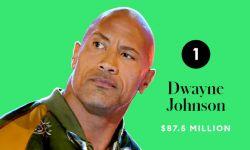 2020年收入最高男演员是强森