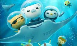 电影《海底小纵队》空降成都,巴克队长偶遇熊猫