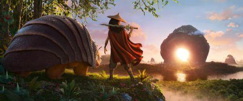 迪士尼原创动画电影《寻龙传说》2021上映 女战士瑞亚和伙伴离乡寻找世上最后一条龙