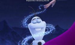 《冰雪奇缘》衍生短片《雪人往事》首款海报公布