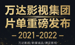 万达影视集团2021-2022片单重磅发布