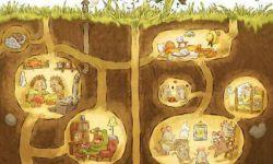 皮克斯动画短片《洞穴》海报曝光,刺猬鼹鼠成邻居