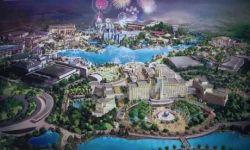 北京环球影城主题公园首批主题景区完成竣工验收