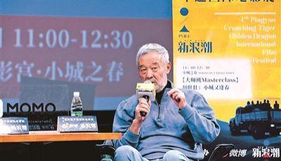田壯壯:我年齡確實大了,但還是得為電影鞠躬盡瘁