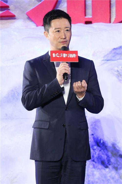 领衔主演吴京亮相