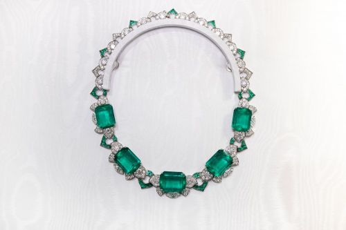 宝格丽Barocko高级珠宝系列Green Dream绿色梦境项链