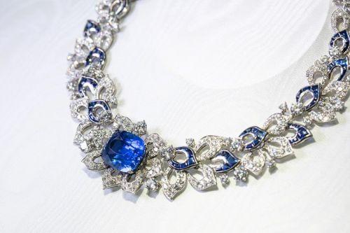 宝格丽Barocko高级珠宝系列Blue Fantasy蓝色狂想项链