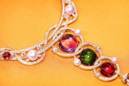 宝格丽Barocko高级珠宝系列Gem Constellations宝石星座项链