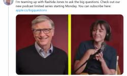 比尔·盖茨联手Rashida Jones推播客节目:首期将邀请福奇博士