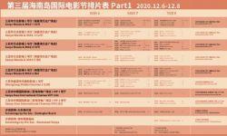 压轴来袭,第三届海南岛国际电影节排片表公布