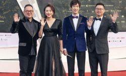 电影《小伍哥》剧组亮相第三届海南岛国际电影节开幕式红毯