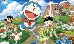 """动画电影《哆啦A梦:大雄的新恐龙》发布""""欢乐飞行""""版海报"""