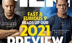 《速度与激情9》主角范·迪塞尔和约翰·塞纳登《Total Film》杂志封面