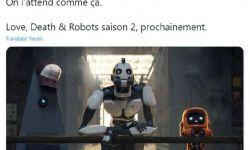 Netflix法国官推:《爱,死亡和机器人》第二季即将开播