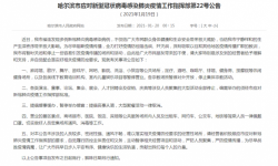 哈尔滨因疫情暂时关闭电影院 演出等大型活动全停