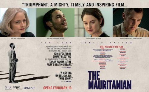 《毛里塔尼亚人》颁奖季海报