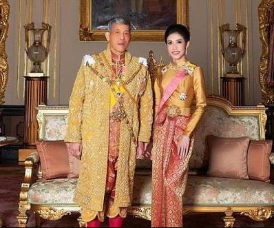 泰国国王与王妃诗妮娜