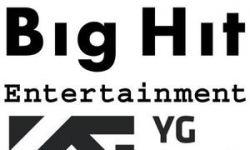 BigHit与YG携手合作 投资规模超4亿人民币