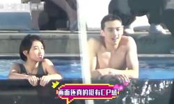 吴磊和张子枫在三亚拍摄电影《盛夏未来》,路透曝光
