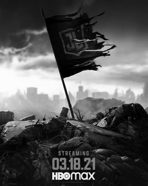 《扎克施奈德版正义联盟》海报