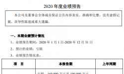 宋城演艺2020年预计亏损16亿-19亿同比由盈转亏 旗下各景区几乎处于闭园状态