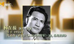 """著名表演艺术家、""""中国银幕第一硬汉""""杨在葆去世"""