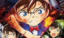 剧场版动画《名侦探柯南:绯色的弹丸》公开新视觉图  4月16日上映